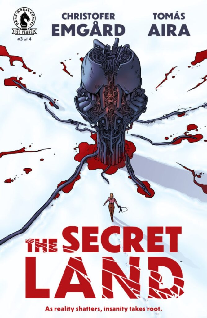 Cover Dark Horse Comics The Secret Land # 3
