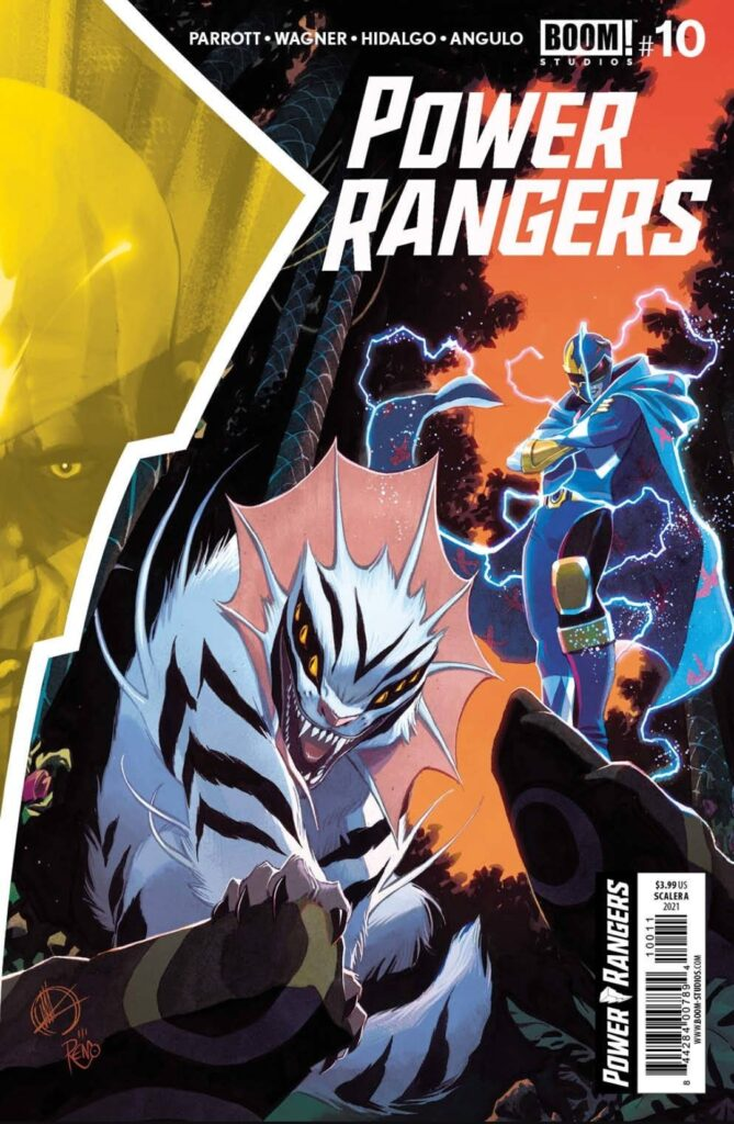 Power Rangers # 10 Cover