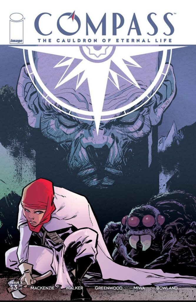 Compass: The Cauldron of Eteernal Life # 3 Cover