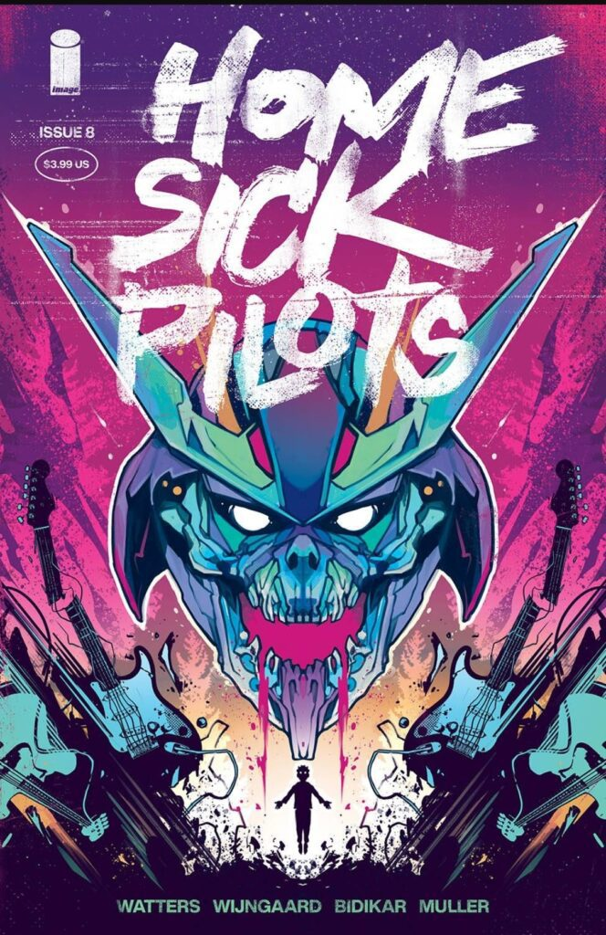 Home Sick Pilots # 8 Cover