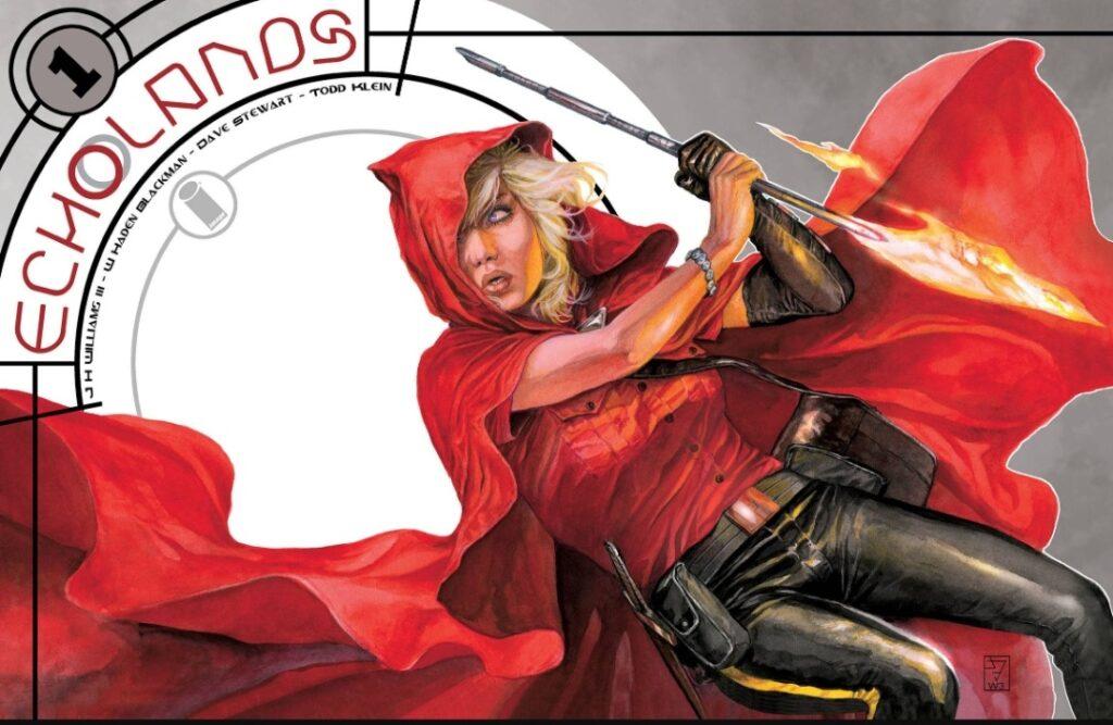 Echolands # 1 Cover
