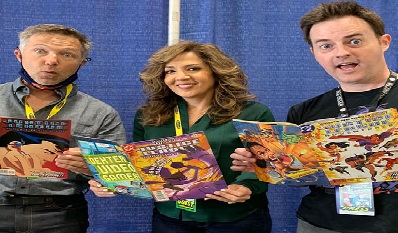 Geek To Me Radio #250: Terrificon 2021 with George Newbern, Maria Canals-Barrera, Kathy Garver, and Robert Costanzo