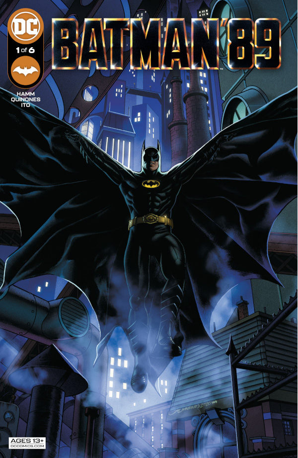 Batman '89 cover by DC Comics for review