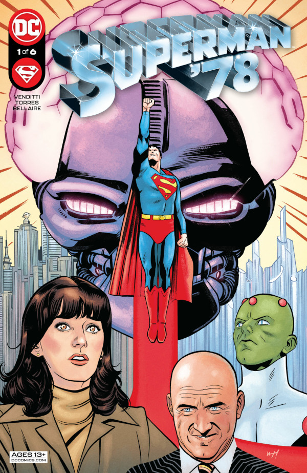 Superman '78 cover for Review
