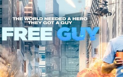 Free Guy Poster Featuring Ryan Reynolds