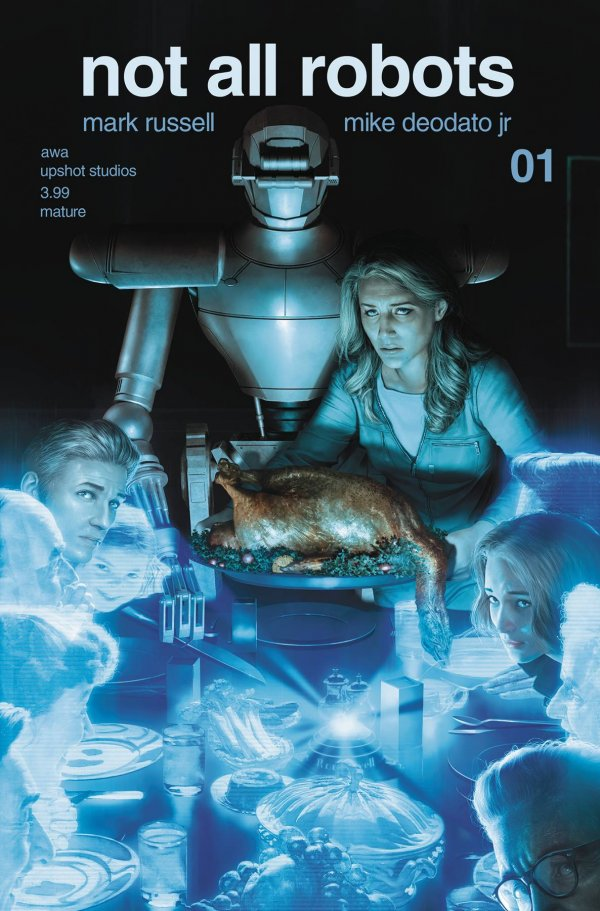 Not All Robots #1 Cover