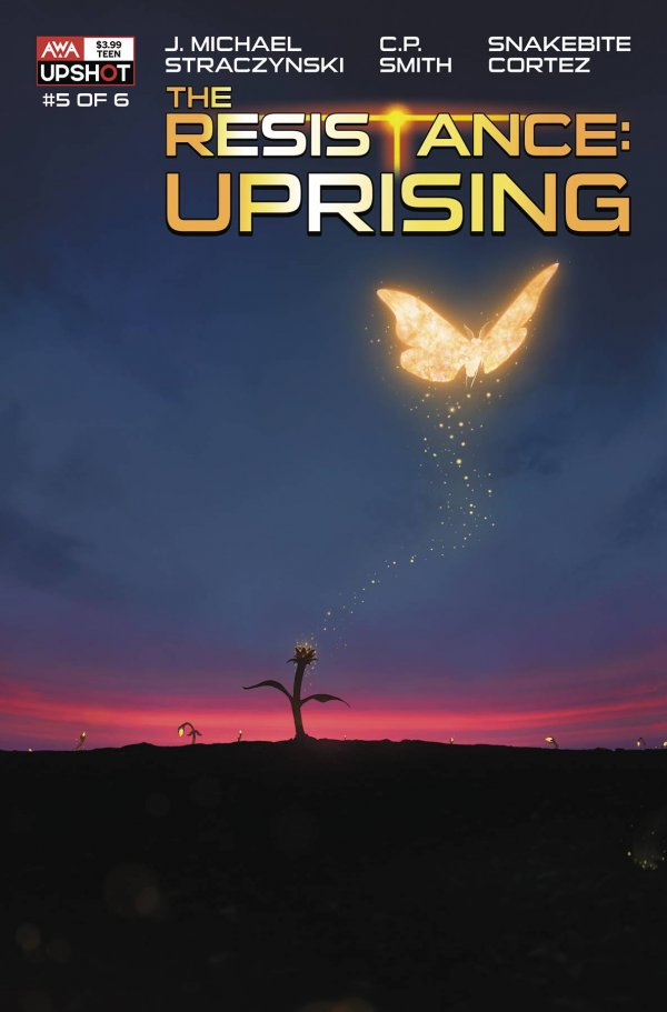 The Resistance: Uprising #5 Main Cover