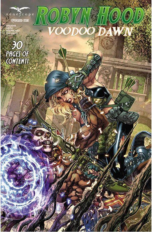 Robyn Hood: Voodoo Dawn comic cover alternate