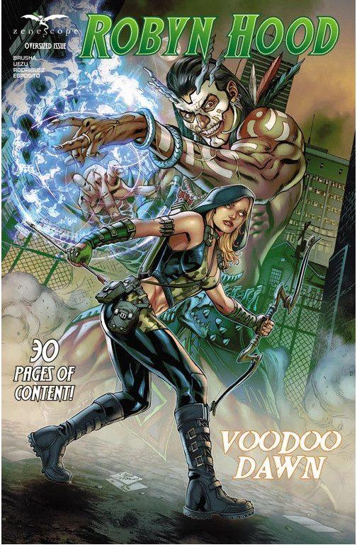 Robyn Hood comic Voodoo Dawn Cover by Zenescope