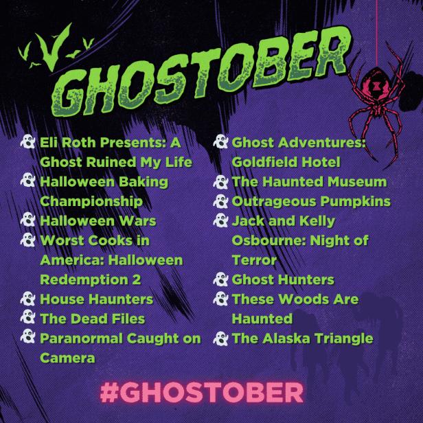 ghostober lineup