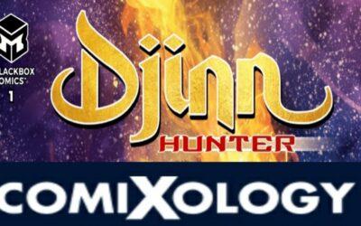 Djinn Hunter Issue # 1 Is Now On Comixology