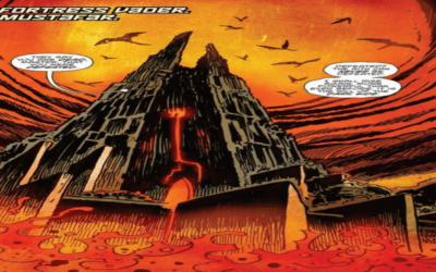 STAR WARS ADVENTURES:  GHOSTS OF VADER's CASTLE # 1 (REVIEW)