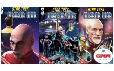 STAR TREK: THE NEXT GENERATION – THE MIRROR WAR #0 (REVIEW)