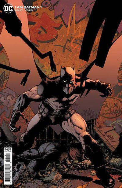 I Am Batman #1 Variant Cover