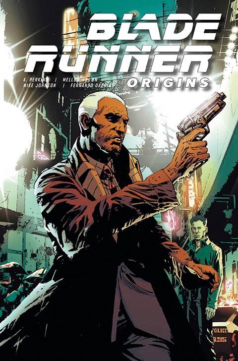 Blade Runner Origins #6 cover Art for review