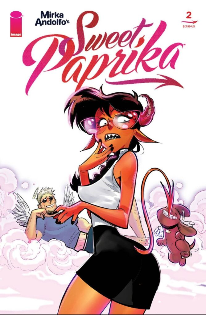 Sweet Paprika # 2 Cover