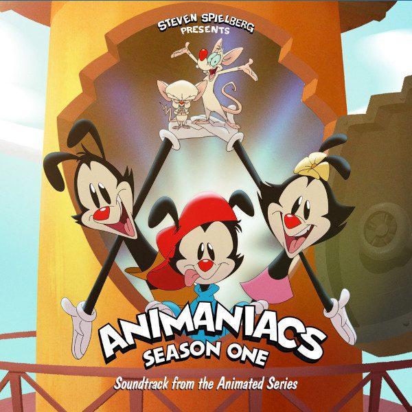 Animaniacs Reboot Soundtrack Album Cover