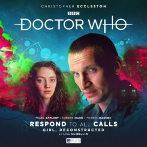 Girl, Deconstructed Cover Art for Big Finish and Doctor Who