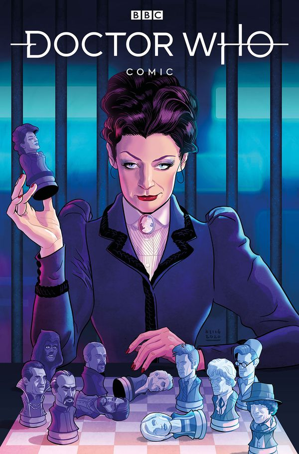 Doctor Who: Missy #1 Cover Art for review