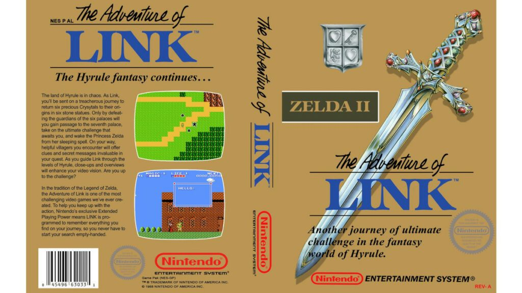 The Adventure of Link cover art