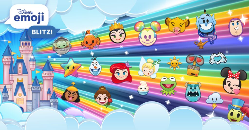 Top Games While Waiting - Disney Emoji Blitz