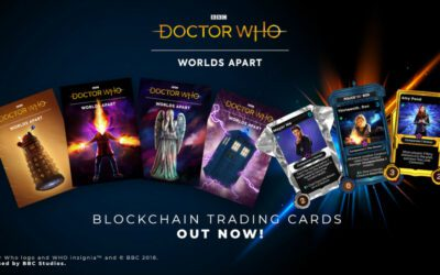 Time Lord Victorious NFT Trading Card Sets Available Now