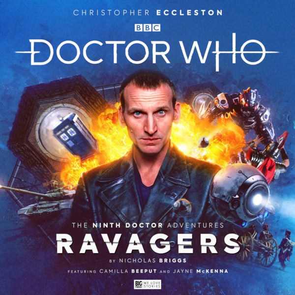 Doctor Who - The Ninth Doctor Adventures: Ravagers cover art for review