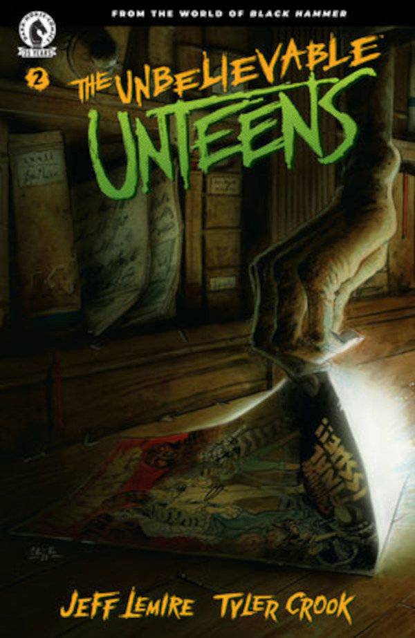 The Unbelievable Unteens #2 Cover for review