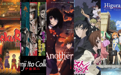 TOP FIVE HORROR ANIME FOR HALLOWEEN