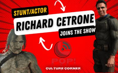 Batman Stunt Actor Richard Cetrone Joins POP! Culture Corner