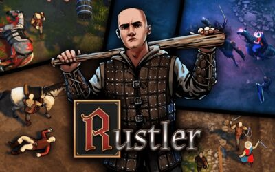 RUSTLER (REVIEW): A MEDIEVAL GTA WITH BARD RAPPERS AND HORSE PARKING LOTS